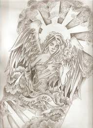 religious angel tattoo design photo 3 photo pictures and