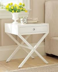 X Side Table Table Decor Options Nightstands Wood Side Tables And Woods
