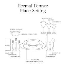 how to set a formal table formal table setting how to set a formal table setting formal