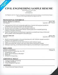 Civil Engineer Resume Template by Sle Resume For An Entry Level Civil Engineer Resume Sle