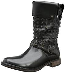 womens motorcycle boots australia amazon com ugg australia womens conor studs boot black size 5