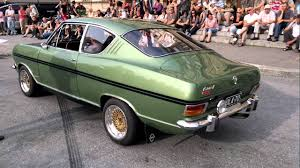 green opal car opel rallye kadett 1967 youtube
