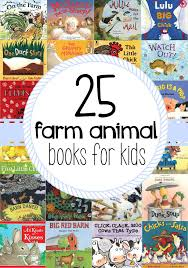 The Big Red Barn Book 25 Farm Animal Books For Kids