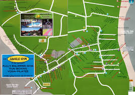 haad rin beach map koh phangan maps