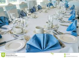 Formal Table Setting Wedding Table Setting Stock Image Image Of Wedding Party 58498103
