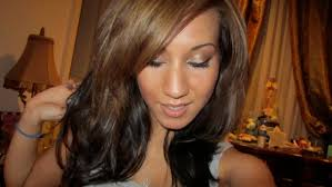 hair color dark on top light on bottom blonde highlights brown hair underneath medium hair styles ideas