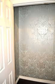 Wallpaper Closet Living Beautifully One Diy Step At A Time Wallpapered Closet