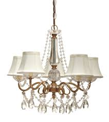 Crystal Chandelier With Shade Wrought Iron And Black Shades 5