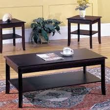 andover mills jessica 3 piece coffee table set u0026 reviews wayfair
