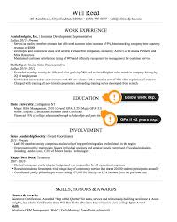 Include Gpa On Resume Sales How To Create The Perfect Sales Resume