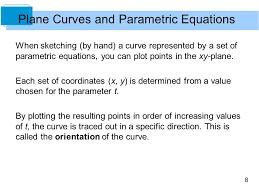 10 conics parametric equations and polar coordinates ppt video