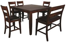 melbourne 6 piece pub set with blue stone top morris home pub