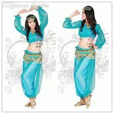 Belly Dance Halloween Costume Wholesale Princess Jasmine Costume Adults Princess Jasmine