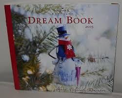 2005 hallmark keepsake dreambook ornaments catalog book new