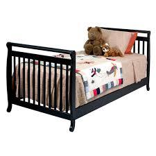 Crib Bed Convertible Davinci Emily 2 In 1 Mini Crib And Bed Convertible Baby Crib