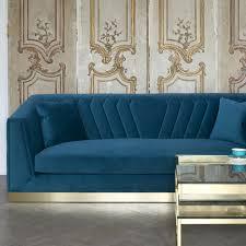 peacock designer sofa art deco inspired design choose fabric