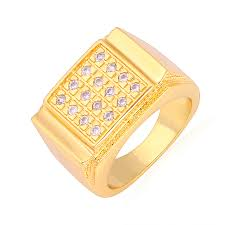 gold ring images for men aliexpress buy vintage ring jewellery gift box gold color
