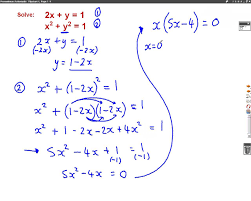 harder simultaneous equations mathscast