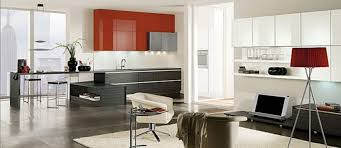 Red Black White Kitchen - amazing value of red kitchen cabinets my home design journey