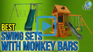 top 7 swing sets with monkey bars of 2017 video review