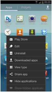 how to hide an app android how to hide apps or on samsung galaxy s3
