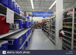 walmart supercentre kitchener ontario stock photos walmart sporting goods section supercentre kitchener ontario canada stock image