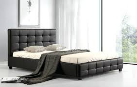 cheap leather bed frames leather bed base with drawers cheap white