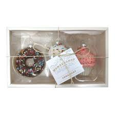 fillable glass ornament target
