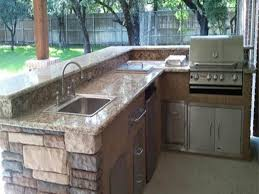 Kitchen Outdoor Ideas L Shaped Outdoor Kitchens Best L Shaped Outdoor Kitchen Plans