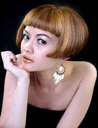 above the ear haircuts for women short mid ear bob haircut with drop earrings bob sexy