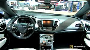 2015 Chrysler 200s Interior 2015 Chrysler 200 S At 2014 Chicago Auto Show