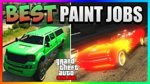 gta 5 online best rare paint jobs neon fire red u0026 khalifa