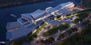 luxelake chengdu yacht club m m creative studio firm of record studios architecture project screen