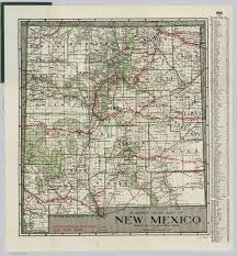 Map New Mexico by New Mexico David Rumsey Historical Map Collection