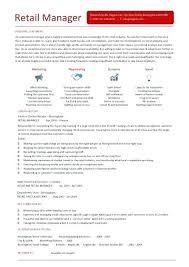 how to write a resume for retail essential elements career