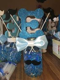 mustache baby shower decorations teal aqua mustache baby shower to be by afalasca
