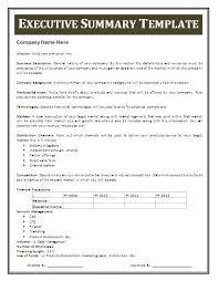 summary report template microsoft word executive summary template fieldstation co