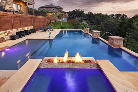 exterior backyard firepit design ideas with cool modern a