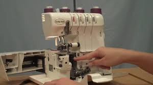 lauren how to thread a serger youtube