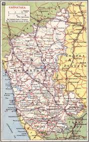Map Of South India by Karnataka India Road Map Karnataka India U2022 Mappery