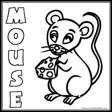 cute mouse coloring printables kids u2013 free word