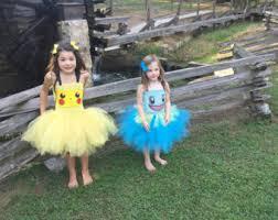 Pokeball Halloween Costume Pokemon Squirtle Tutu Dress Costume Pikachu Pokeball Inspired