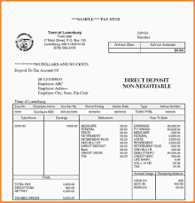 7 free payroll check stub invoice template south africa comparison