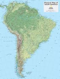 south america map atlas maps of south america posters at allposters