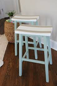 How To Make Bar Stools Best 20 Painted Bar Stools Ideas On Pinterest Painted Stools