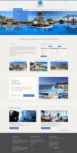 real estate website designed using our new administration software