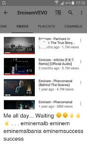 eminem playlist ome vevo 81 1710 eminem vevo a videos playlists channels eminem