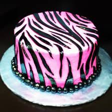 sharefun art projects such as pink zebra cake are diy ideas that