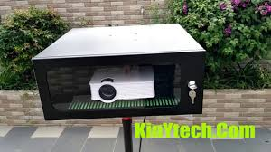 weatherproof outdoor projector enclosure diy waterproof box