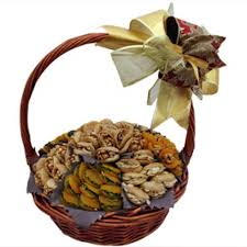 nuts gift basket dried fruits nut gift basket by wafi gourmet dubai flower